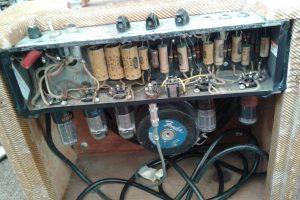 Vintage 1953 Fender Tweed Repair