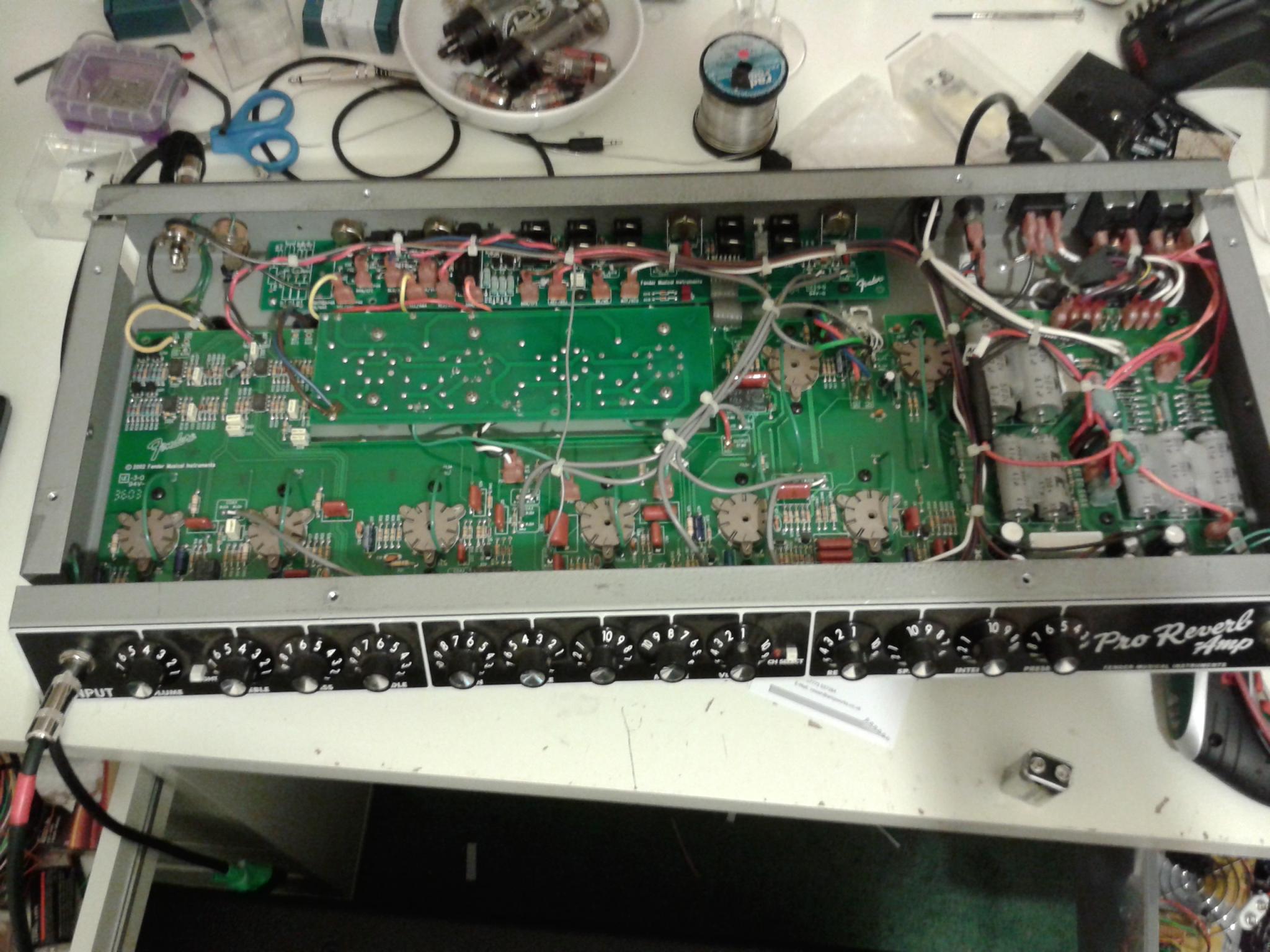 Fender valve amp blowing fuses