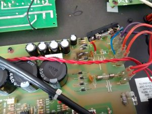 Valve amp blowing fuses