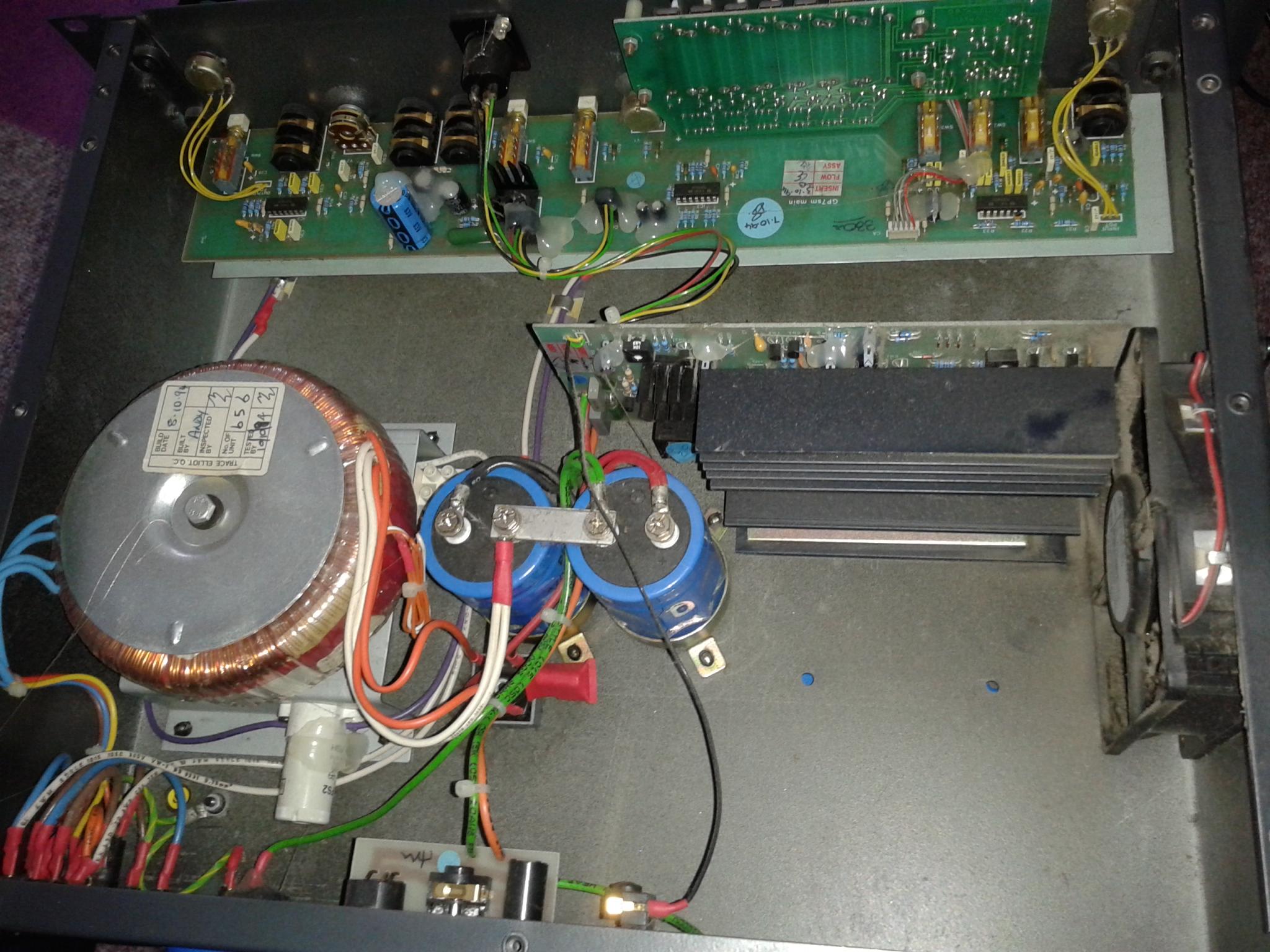 Trace Elliot GP12 Repair