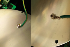 LED lighting repair - Safety Earth repair
