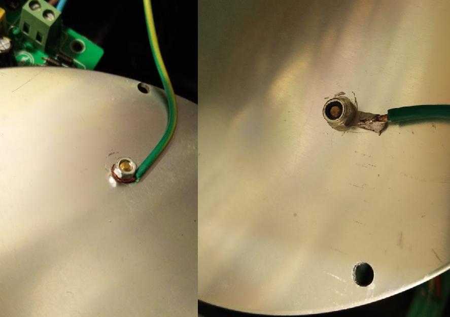 LED lighting repair - Safety Earth repair