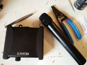 wireless mic repair