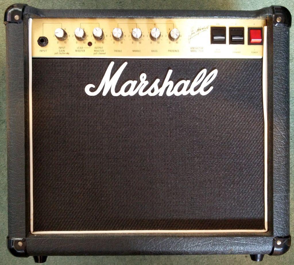 Marshall 2554 JCM 800 combo repair-4