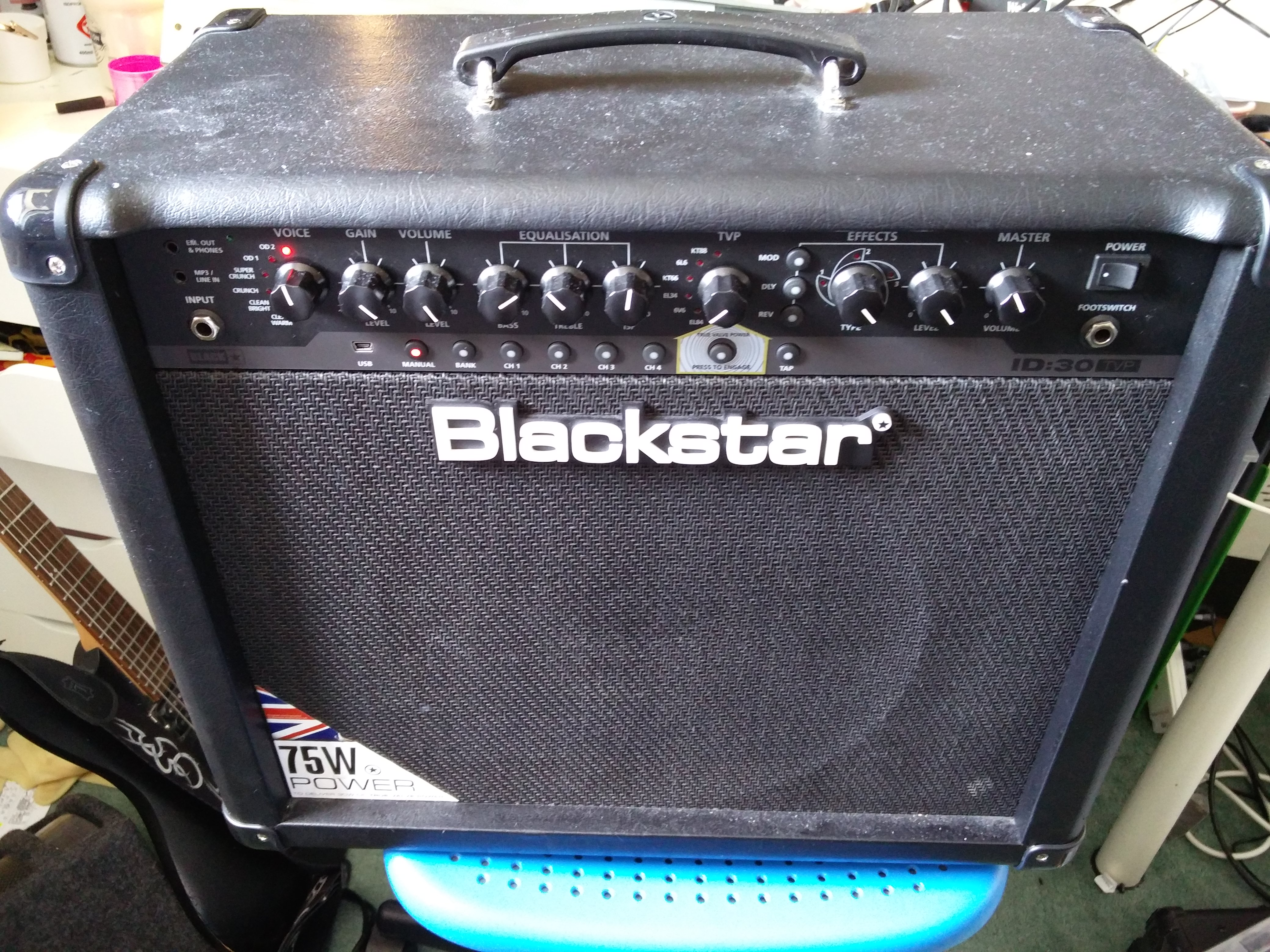 Blackstar ID-30 TVP repair
