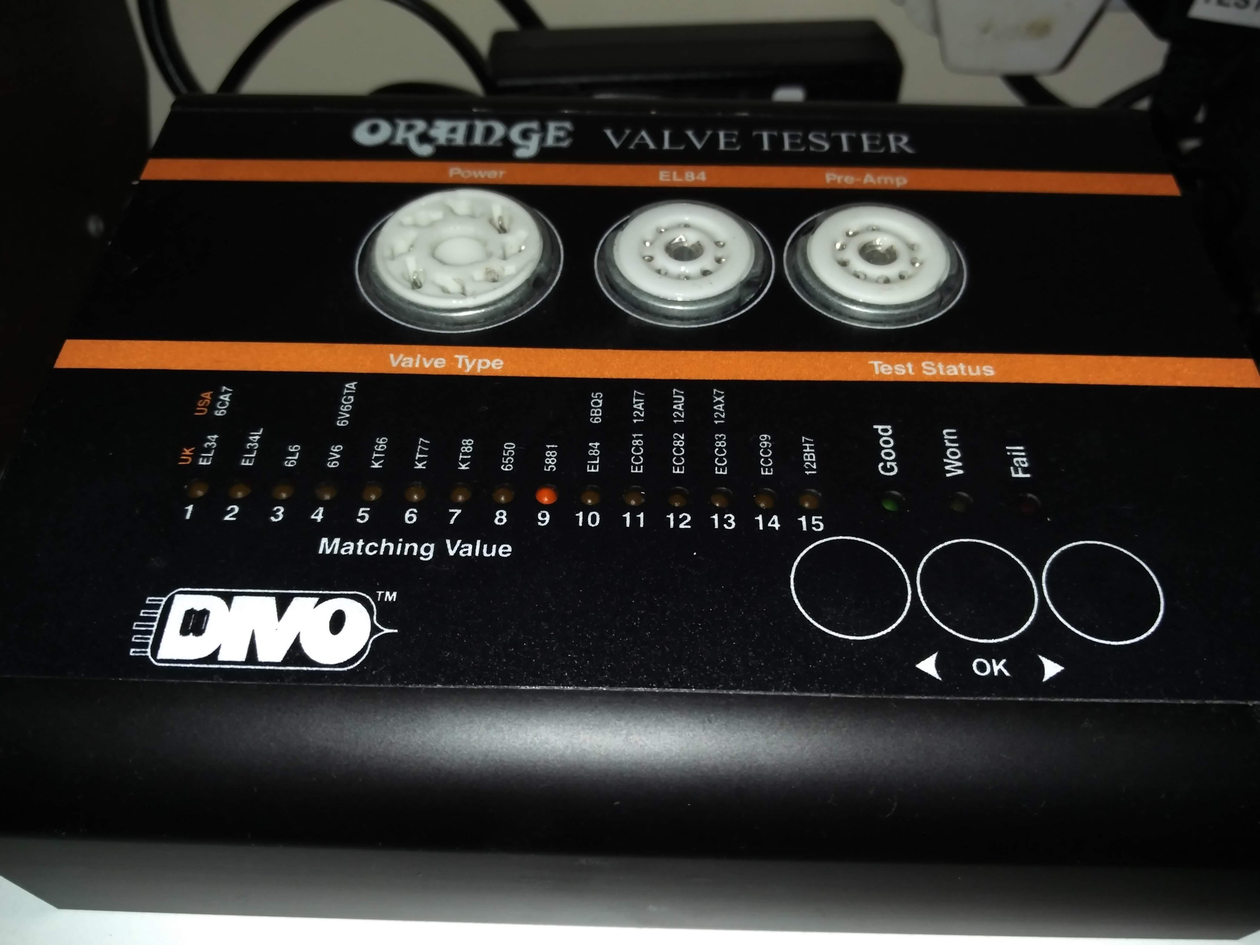 Orange VT1000 valve tester repair
