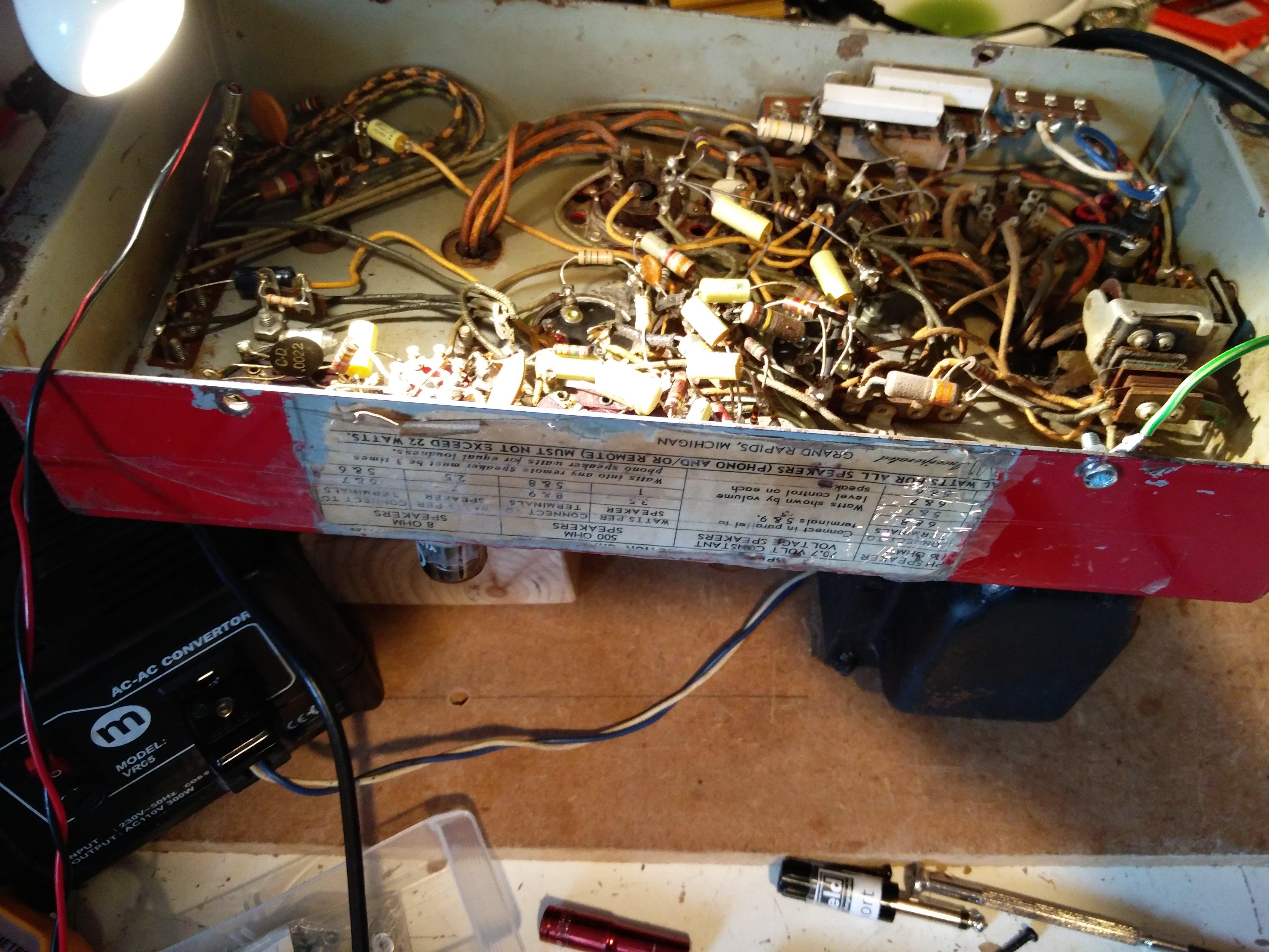 AMI Jukebox repair - 1958 AMI 200 Jukebox - Keld Ampworks