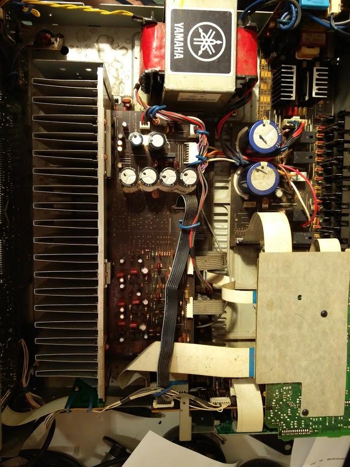 Av receiver repair yamaha rx v450 keld ampworks for Yamaha rx v450 av receiver price